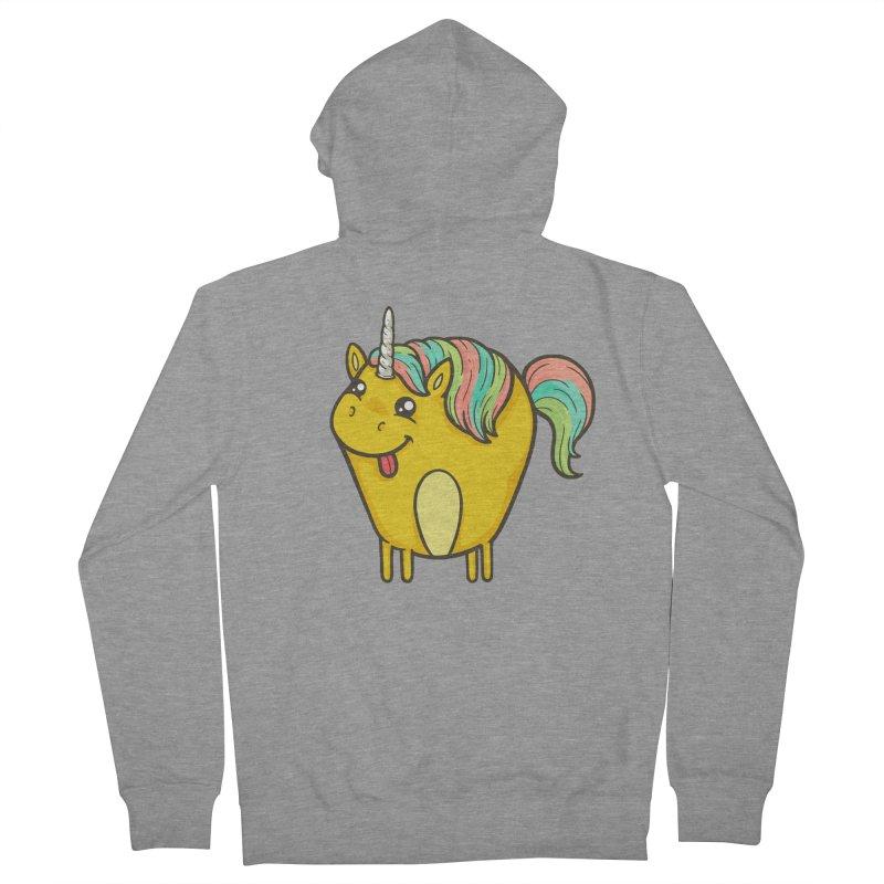 Unicorn Men's Zip-Up Hoody by spookylili
