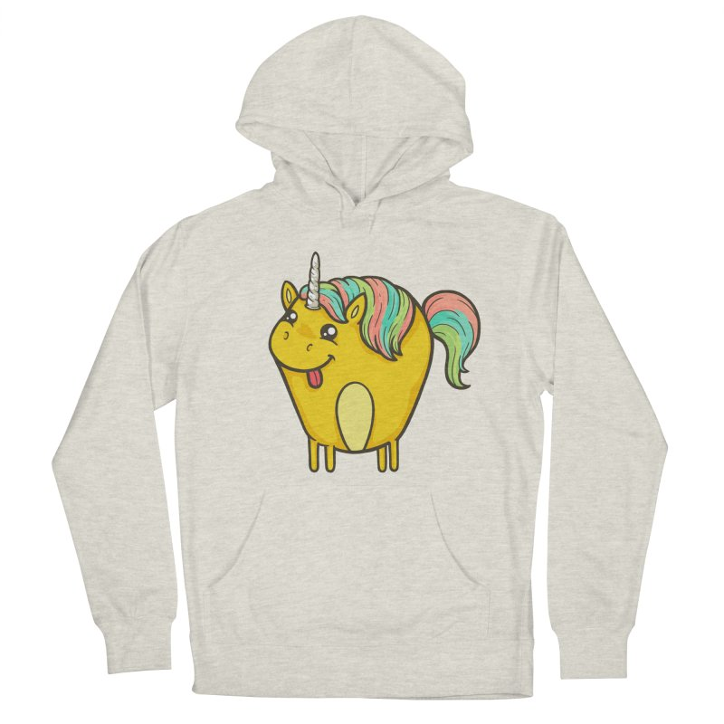 Unicorn Men's French Terry Pullover Hoody by spookylili