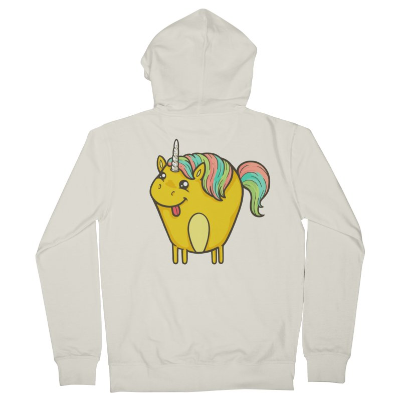 Unicorn Men's French Terry Zip-Up Hoody by spookylili