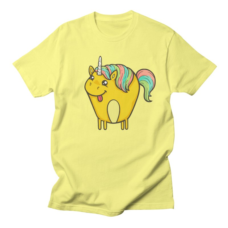 Unicorn Men's T-Shirt by spookylili