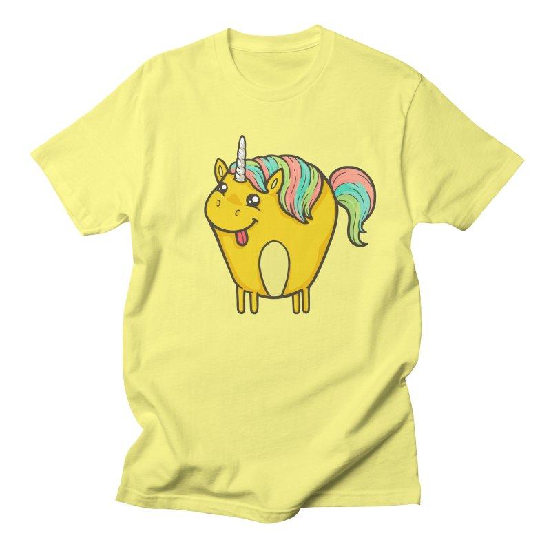 Unicorn Men's Regular T-Shirt by spookylili