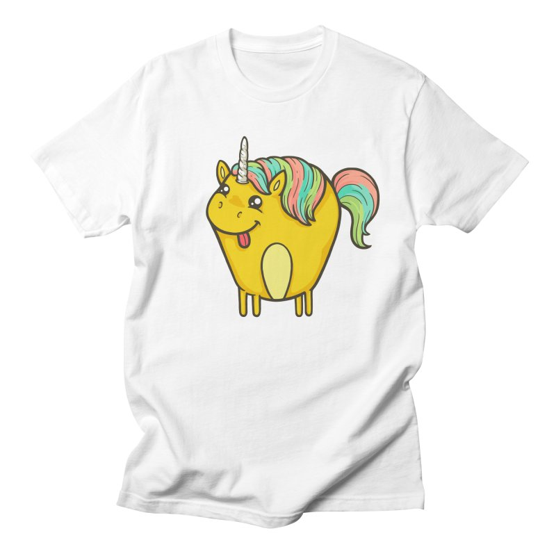 Unicorn Men's Regular T-Shirt by spookylili