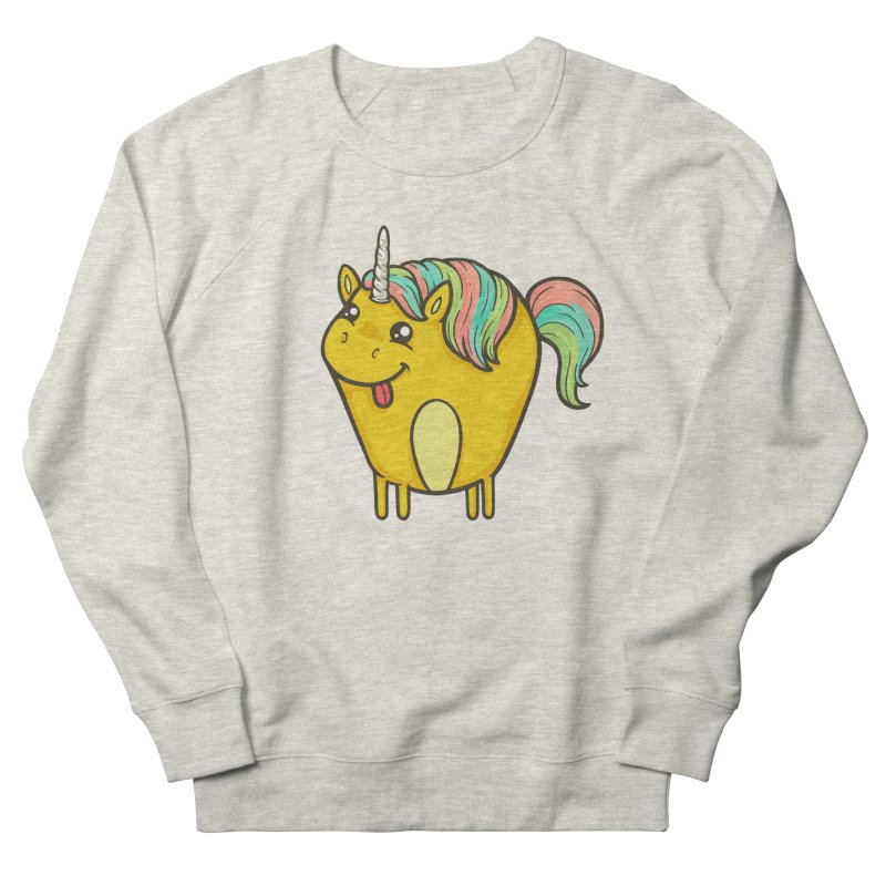 Unicorn Men's French Terry Sweatshirt by spookylili