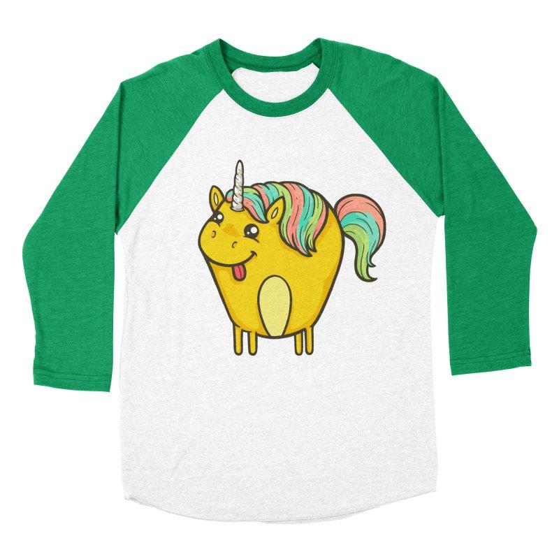 Unicorn Women's Baseball Triblend Longsleeve T-Shirt by spookylili