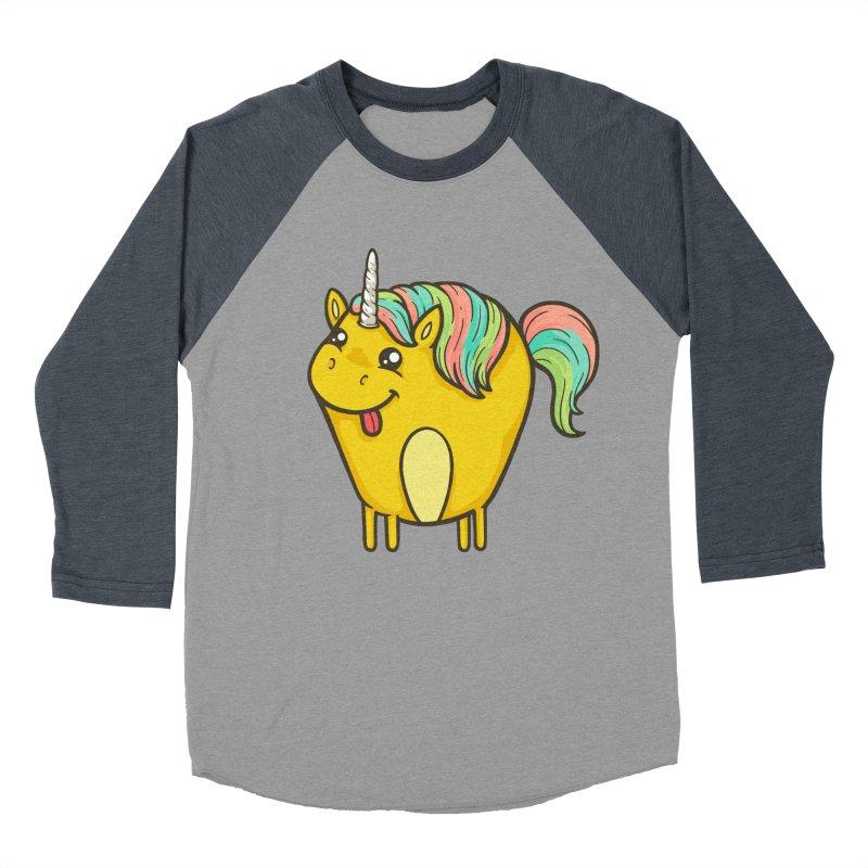 Unicorn Men's Baseball Triblend Longsleeve T-Shirt by spookylili