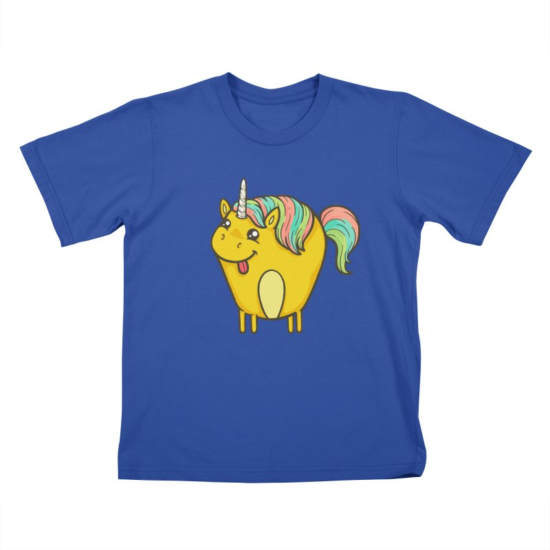 Unicorn Kids T-Shirt by spookylili