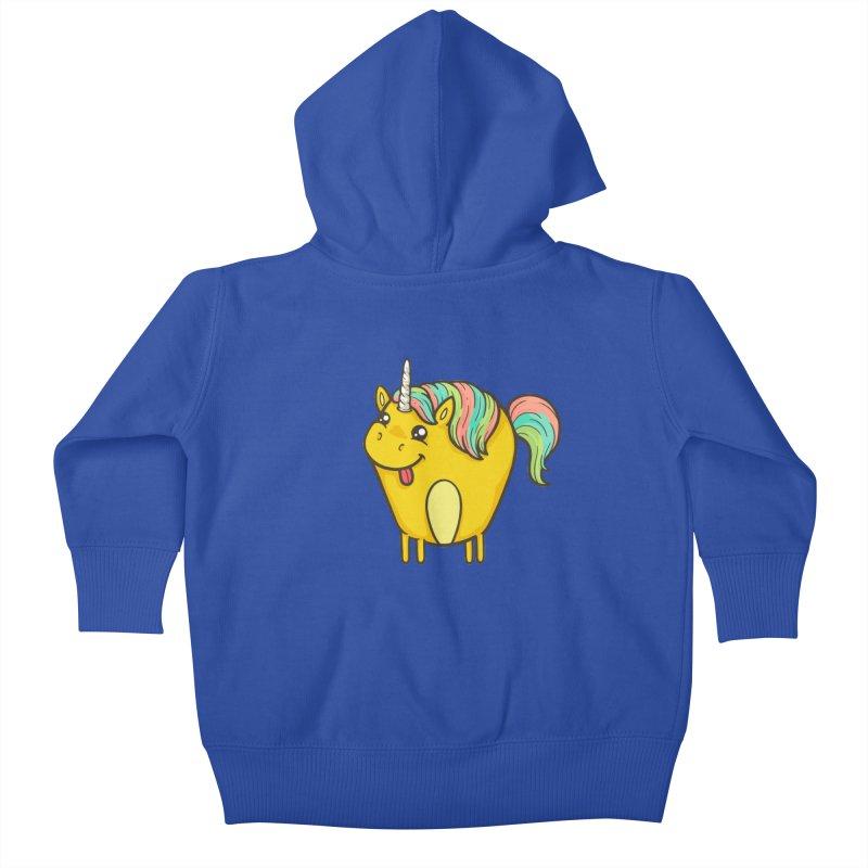 Unicorn Kids Baby Zip-Up Hoody by spookylili