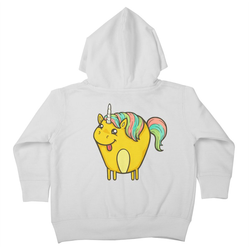 Unicorn Kids Toddler Zip-Up Hoody by spookylili