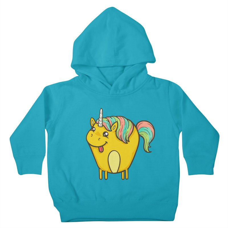 Unicorn Kids Toddler Pullover Hoody by spookylili