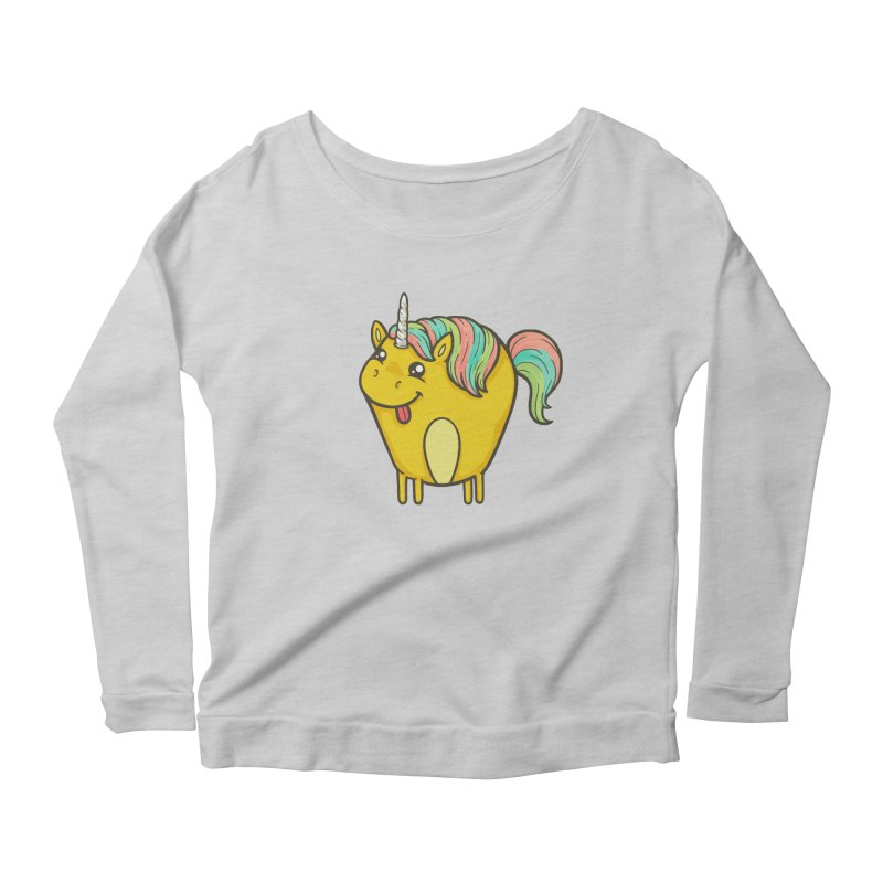 Unicorn Women's Longsleeve T-Shirt by spookylili