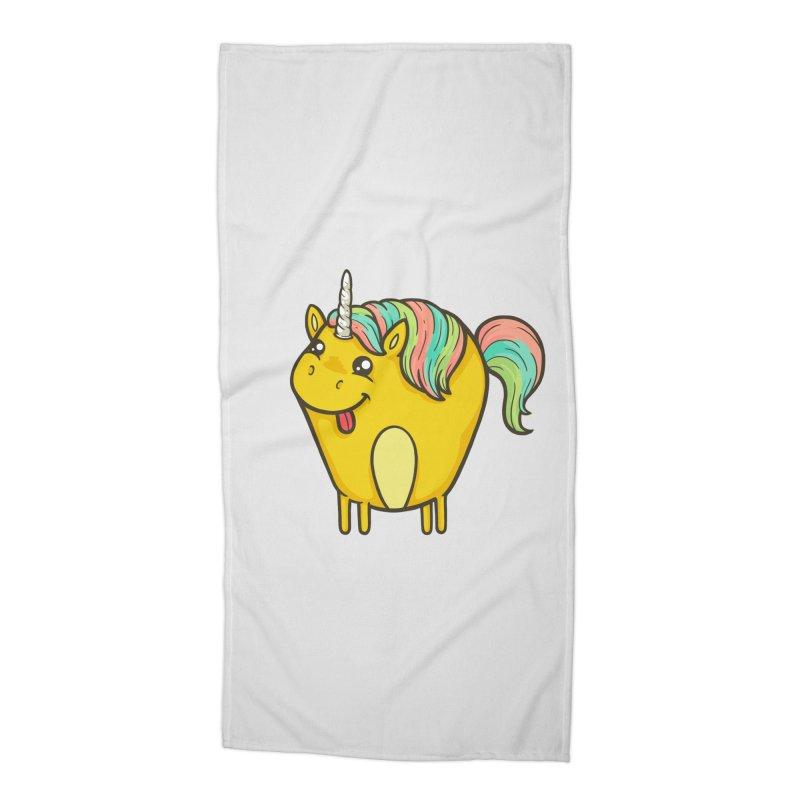 Unicorn Accessories Beach Towel by spookylili