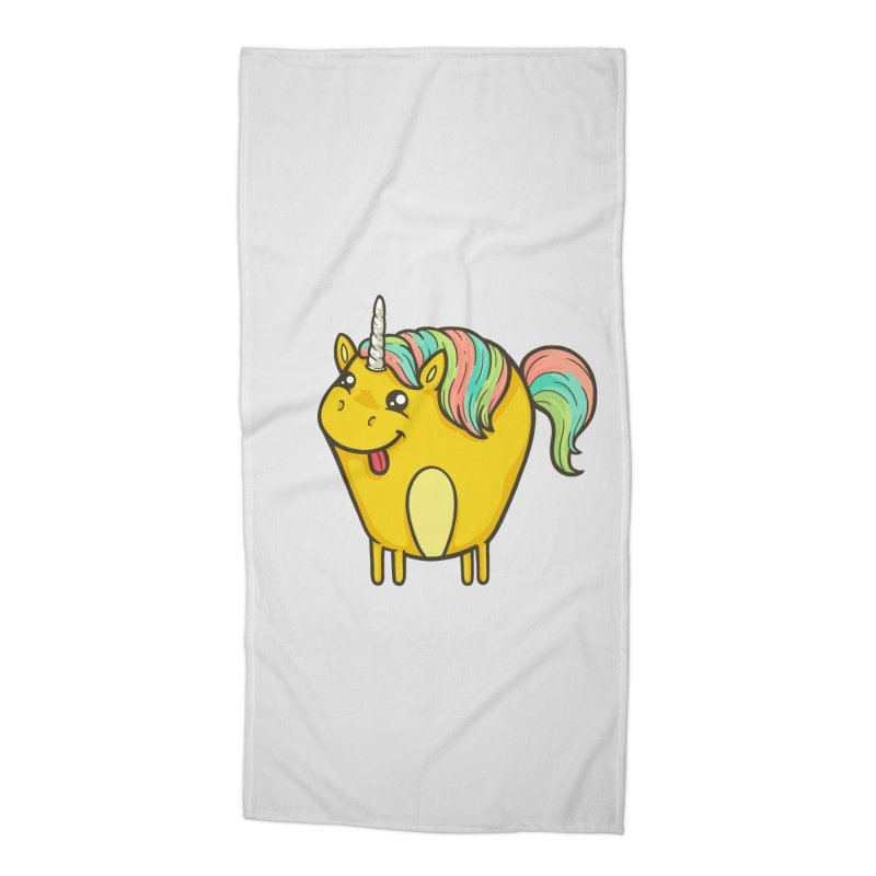 Unicorn Accessories Beach Towel by spookylili