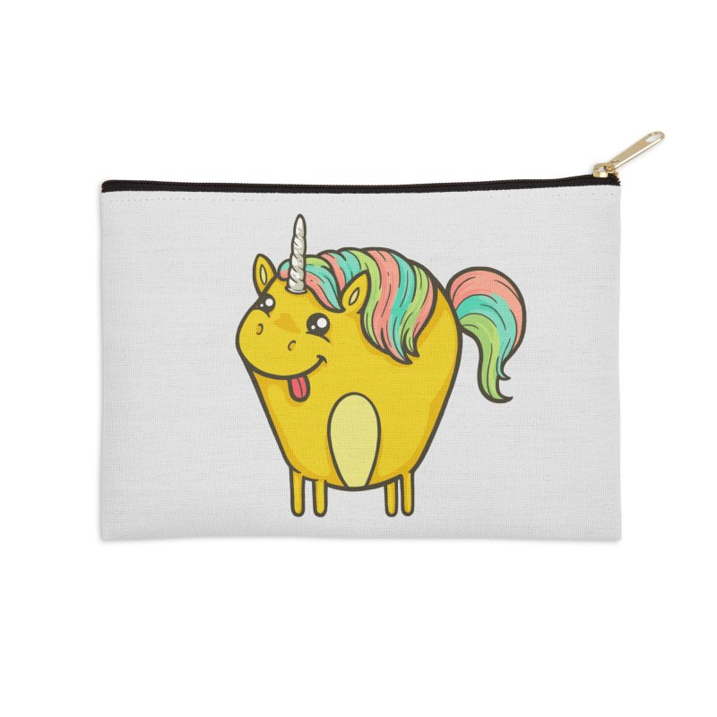 Unicorn Accessories Zip Pouch by spookylili