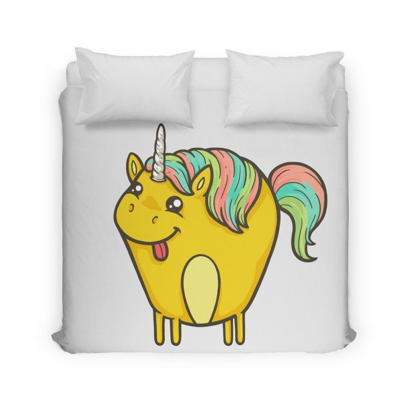 Unicorn Home Duvet by spookylili