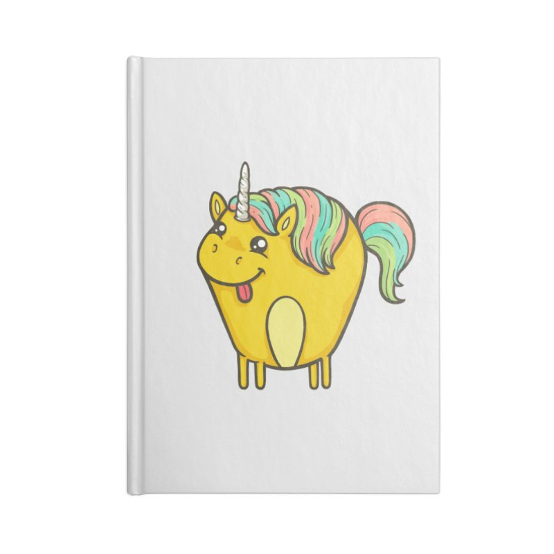 Unicorn Accessories Notebook by spookylili