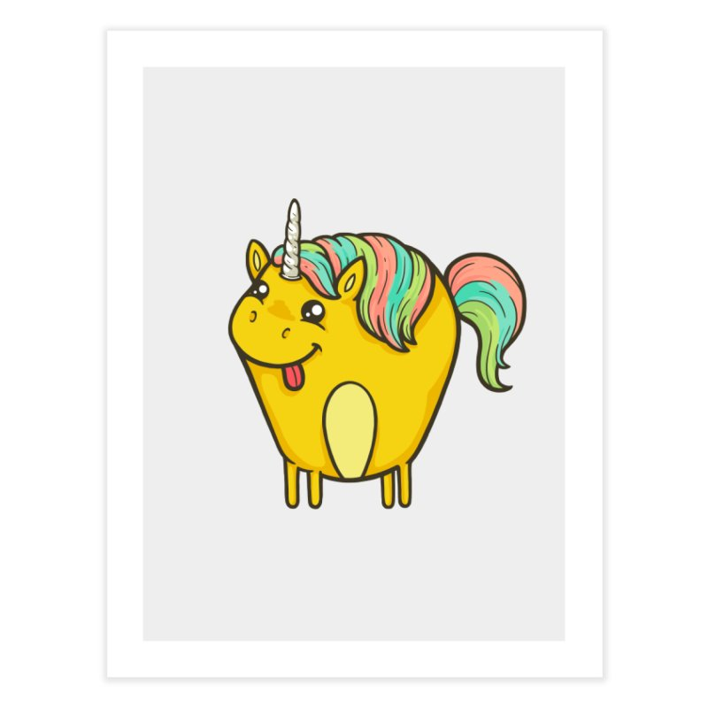 Unicorn Home Fine Art Print by spookylili