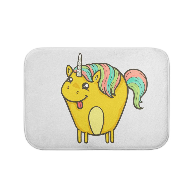 Unicorn Home Bath Mat by spookylili