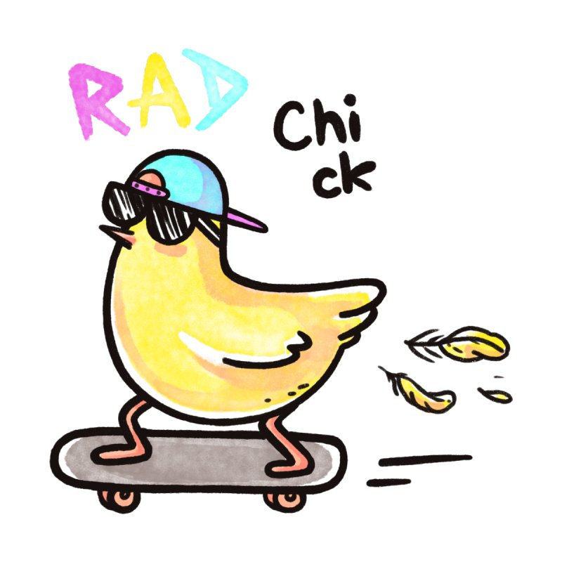 Rad Chick Home Shower Curtain by spookylili