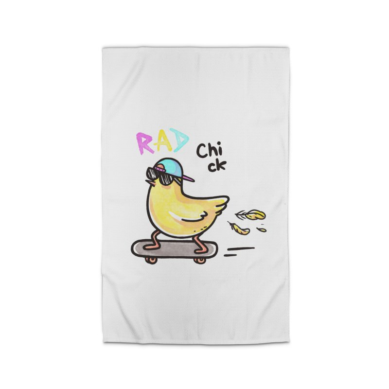 Rad Chick Home Rug by spookylili