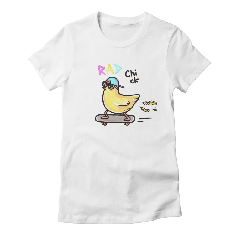 Rad Chick Women's T-Shirt by spookylili