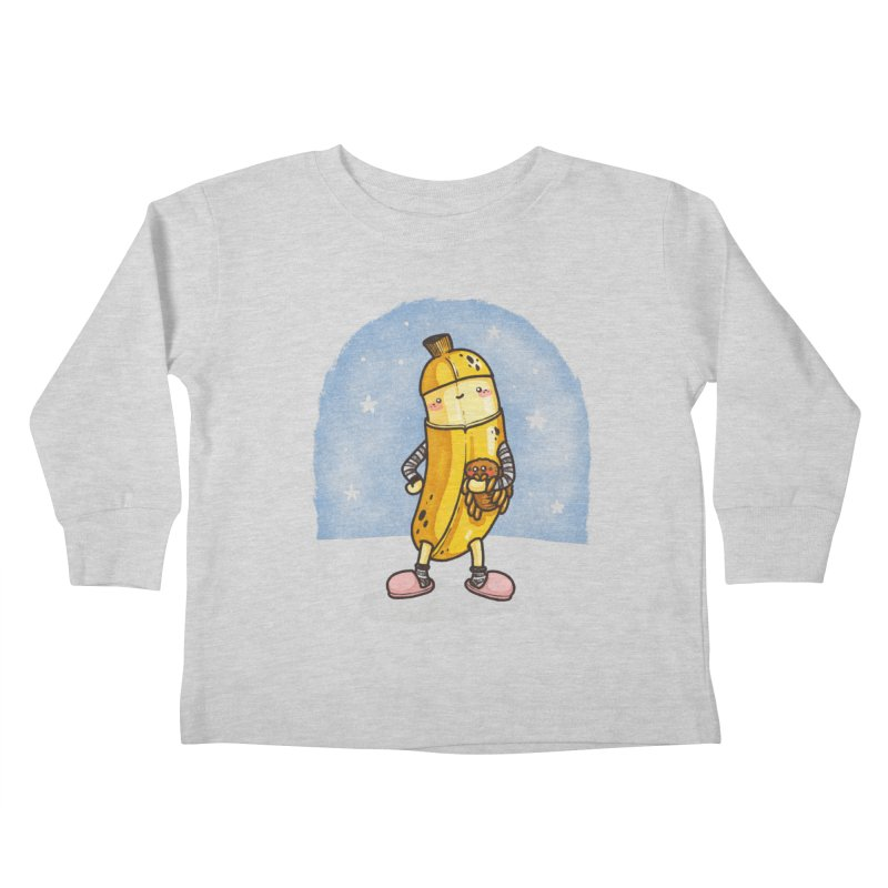 Bed Time Kids Toddler Longsleeve T-Shirt by spookylili