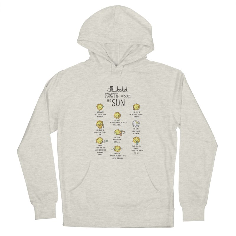 The Sun Women's French Terry Pullover Hoody by spookylili