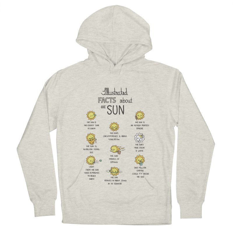 The Sun Men's French Terry Pullover Hoody by spookylili