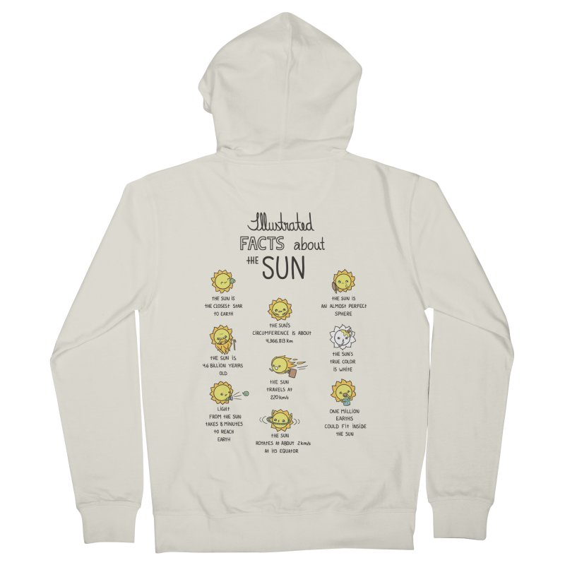 The Sun Men's French Terry Zip-Up Hoody by spookylili