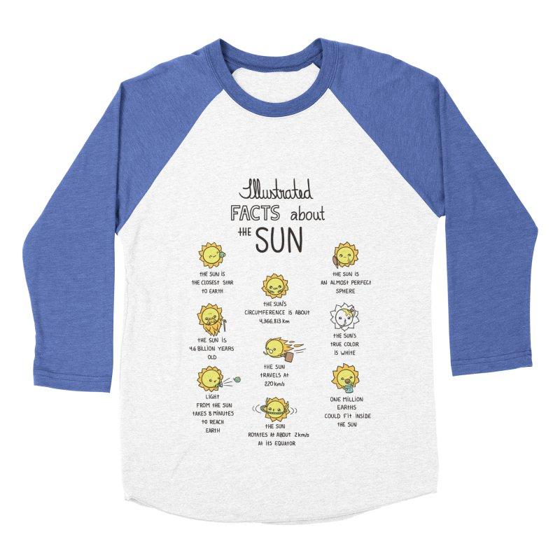 The Sun Men's Baseball Triblend T-Shirt by spookylili