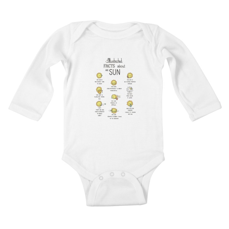 The Sun Kids Baby Longsleeve Bodysuit by spookylili