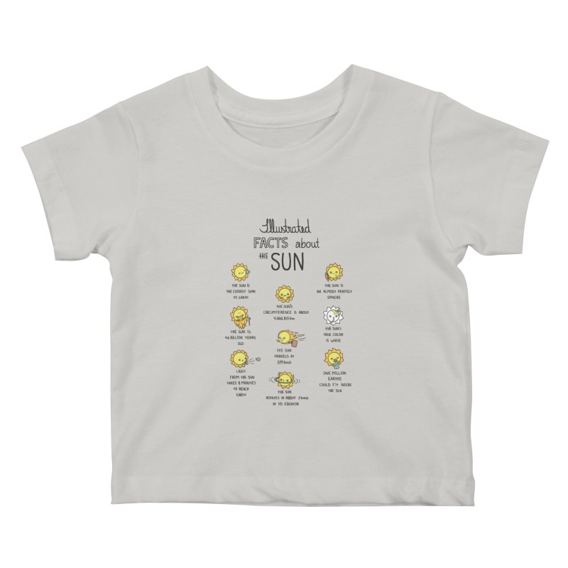The Sun Kids Baby T-Shirt by spookylili
