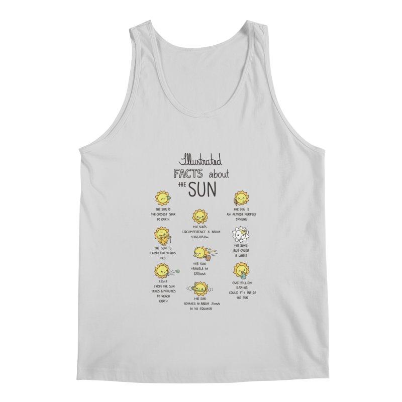 The Sun Men's Regular Tank by spookylili