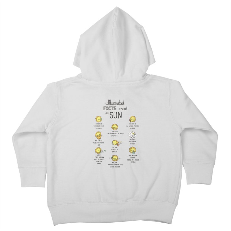 The Sun Kids Toddler Zip-Up Hoody by spookylili