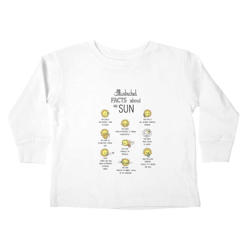 The Sun Kids Toddler Longsleeve T-Shirt by spookylili