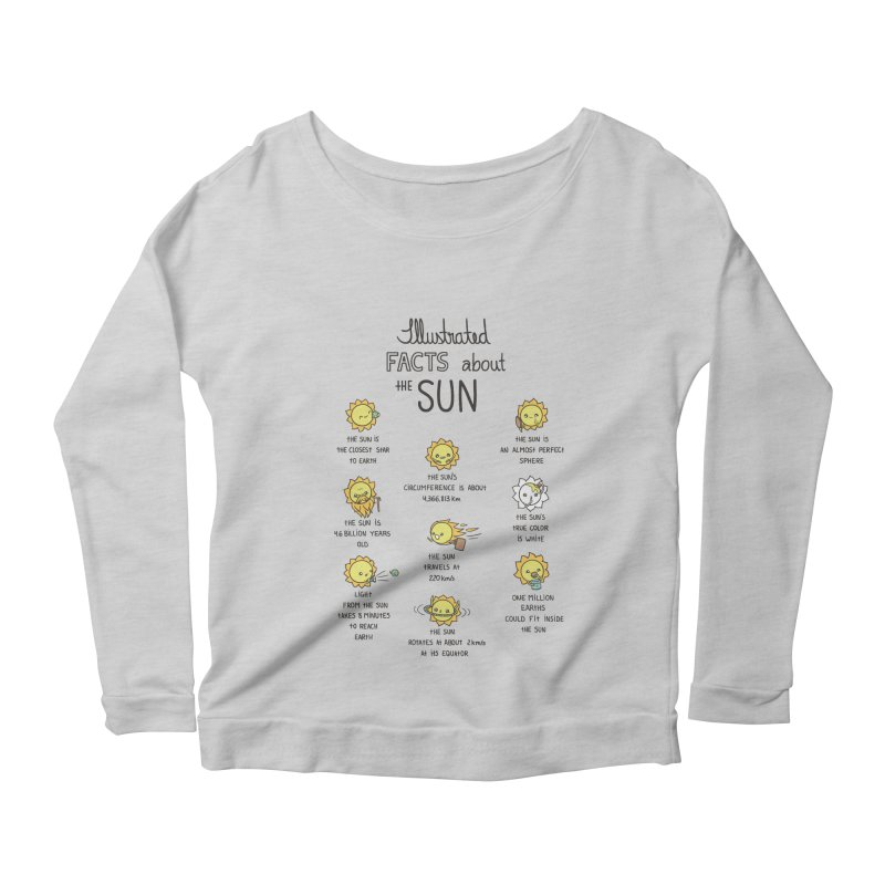 The Sun Women's Scoop Neck Longsleeve T-Shirt by spookylili