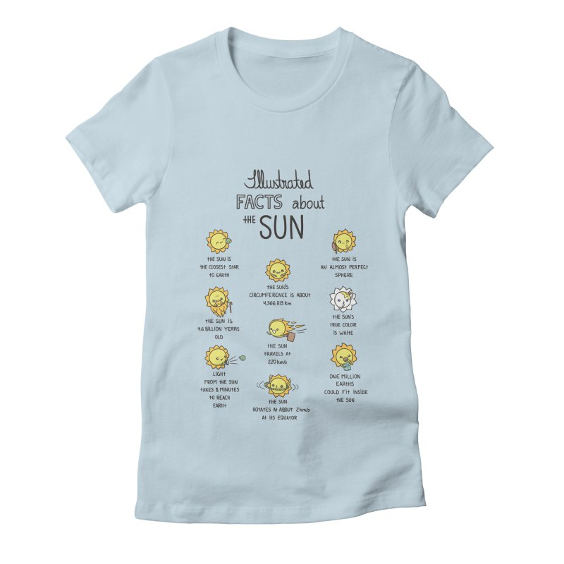 The Sun Women's T-Shirt by spookylili