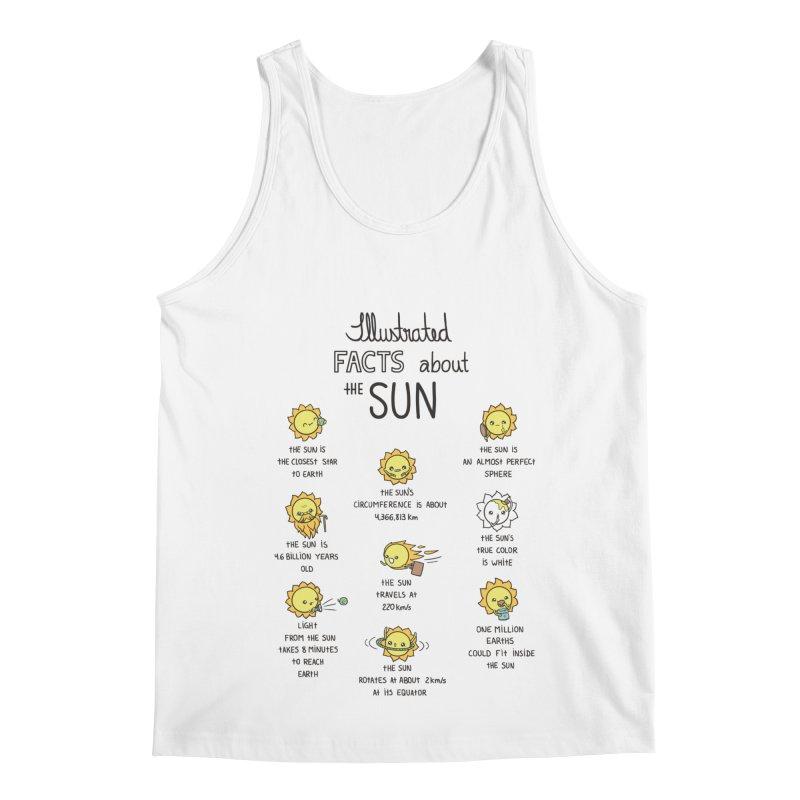 The Sun Men's Tank by spookylili