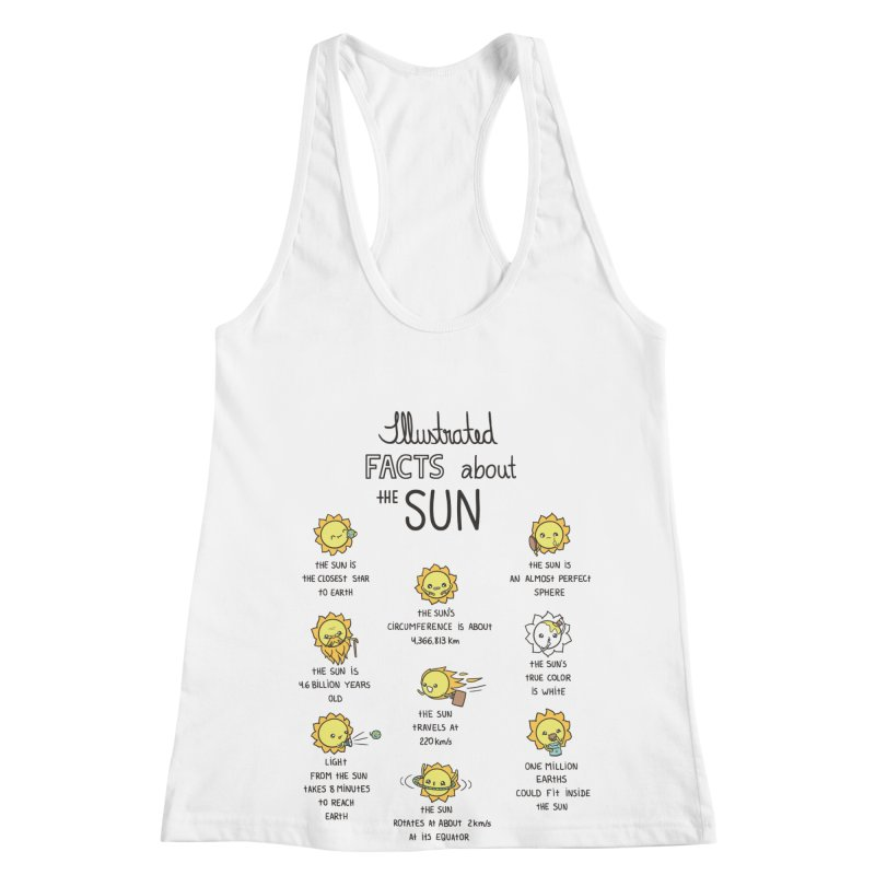 The Sun Women's Racerback Tank by spookylili