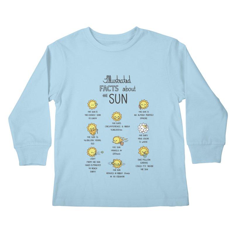The Sun Kids Longsleeve T-Shirt by spookylili