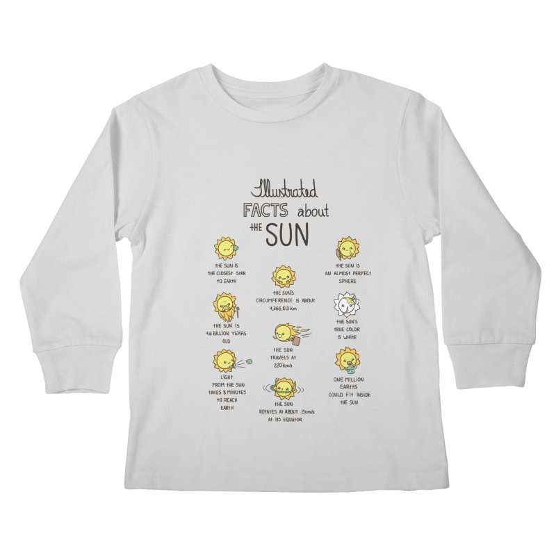 The Sun Kids Longsleeve T-Shirt by spookylili