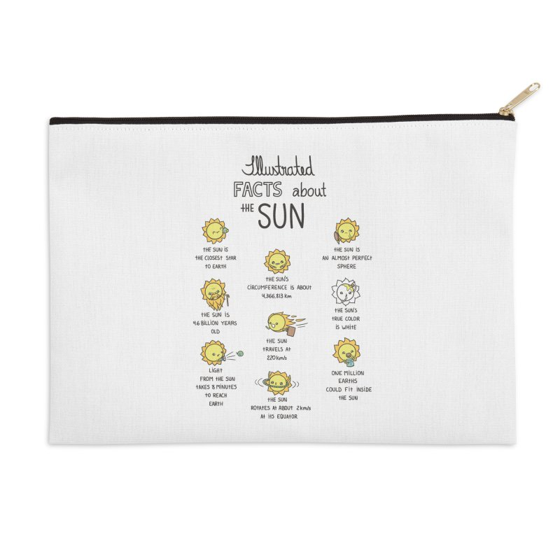 The Sun Accessories Zip Pouch by spookylili