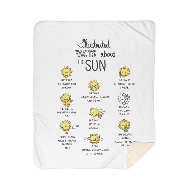The Sun Home Sherpa Blanket Blanket by spookylili