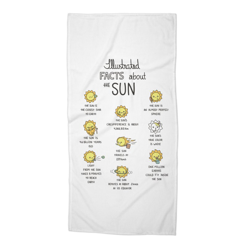 The Sun Accessories Beach Towel by spookylili