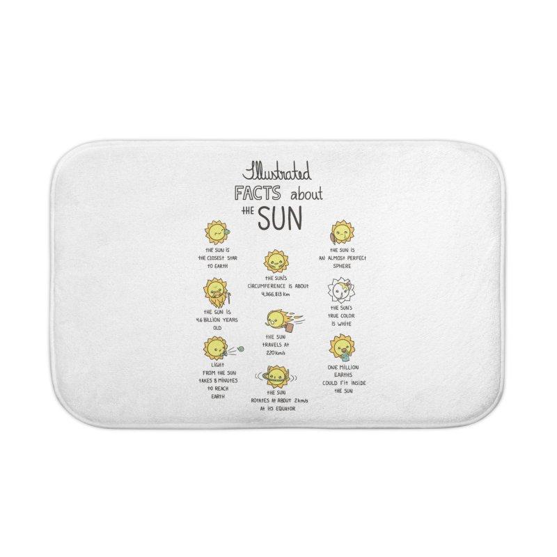 The Sun Home Bath Mat by spookylili