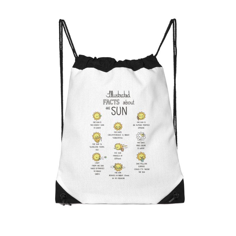 The Sun Accessories Drawstring Bag Bag by spookylili