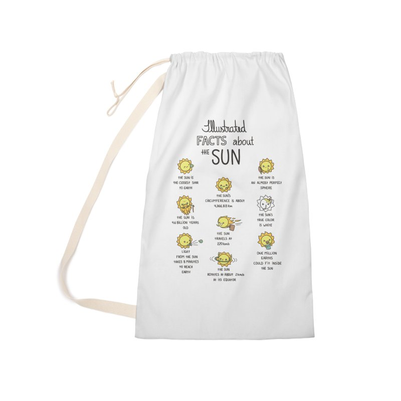The Sun Accessories Laundry Bag Bag by spookylili