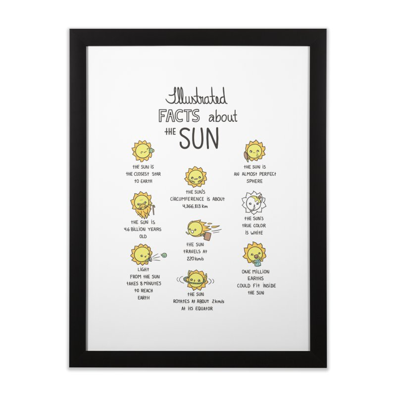 The Sun Home Framed Fine Art Print by spookylili