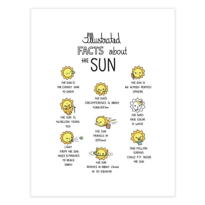 The Sun Home Fine Art Print by spookylili