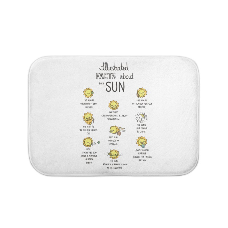 The Sun Home Bath Mat by spookylili
