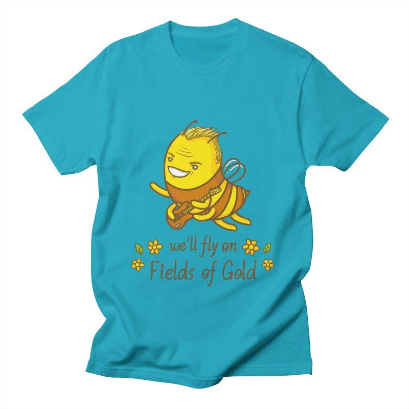 Bee Sting Men's T-Shirt by spookylili